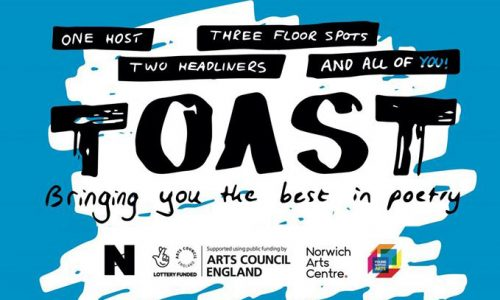 Toast Poetry Night Norwich
