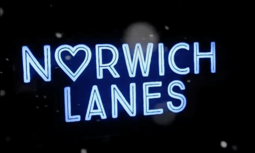 Norwich Lanes Christmas Light
